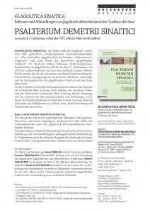 Publication Announcement